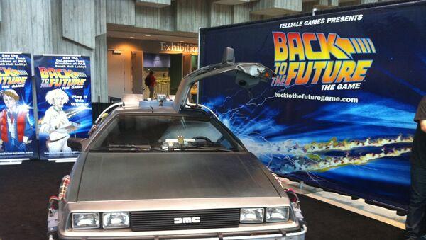 Una promoción de 'Regreso al futuro' - Sputnik Mundo