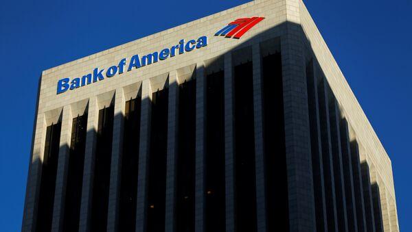 El edificio de The Bank of America (archivo) - Sputnik Mundo