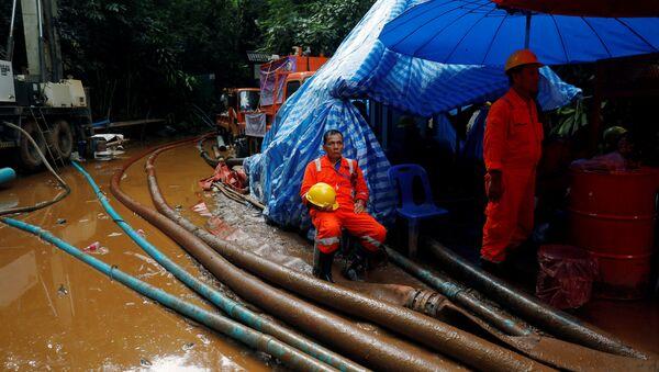 Operación de rescate en Tailandia - Sputnik Mundo