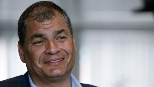 El expresidente de Ecuador, Rafael Correa. - Sputnik Mundo