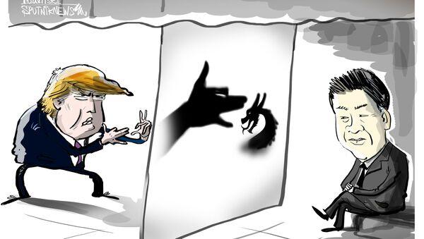 EEUU recurre a 'trucos psicológicos' para aterrorizar a China - Sputnik Mundo