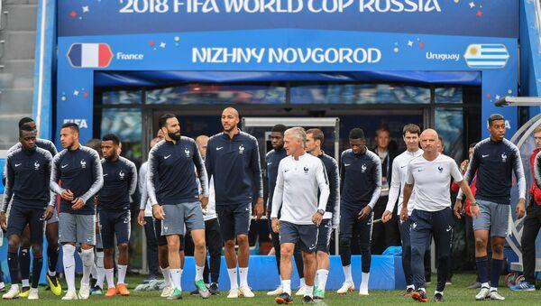 La selección de Francia - Sputnik Mundo