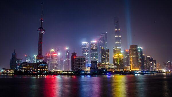 La ciudad de Shanghai (China) - Sputnik Mundo