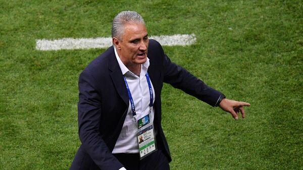 Tite, entrenador de la selección de fútbol de Brasil - Sputnik Mundo