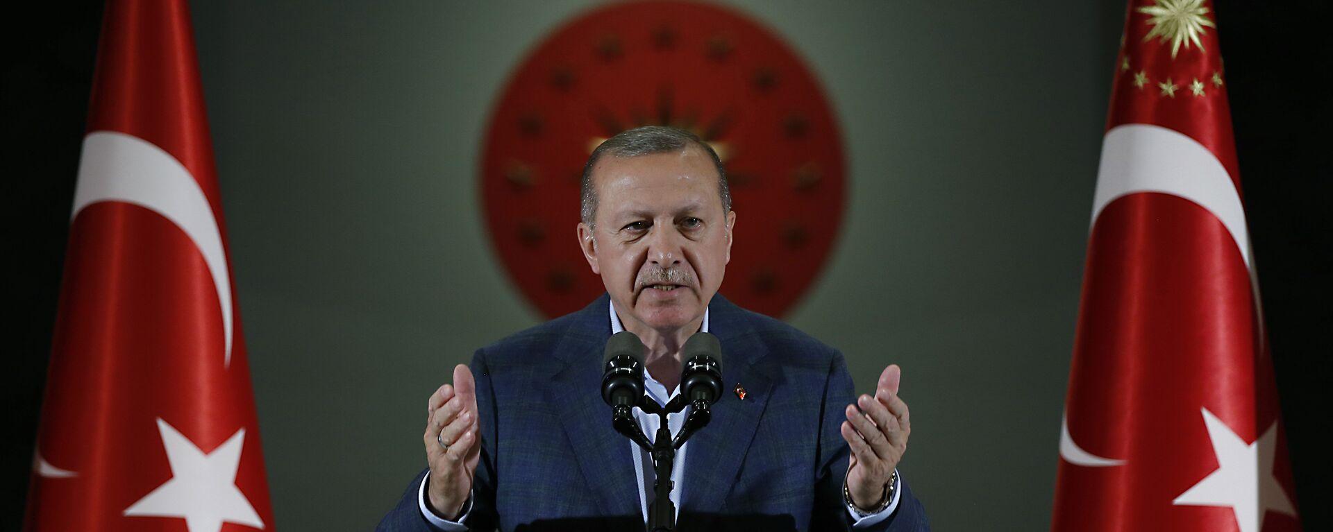 Recep Tayyip Erdogan, presidente de Turquía - Sputnik Mundo, 1920, 13.01.2021