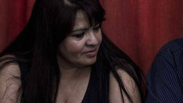 Nestora Salgado, excomandanta de la Policía Comunitaria de Olinalá, Guerrero, electa como senadora plurinominal por MORENA - Sputnik Mundo