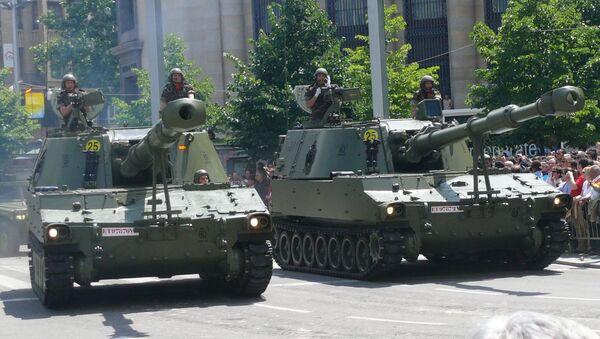 Desfile de las Fuerzas Armadas de España (imagen referencial) - Sputnik Mundo