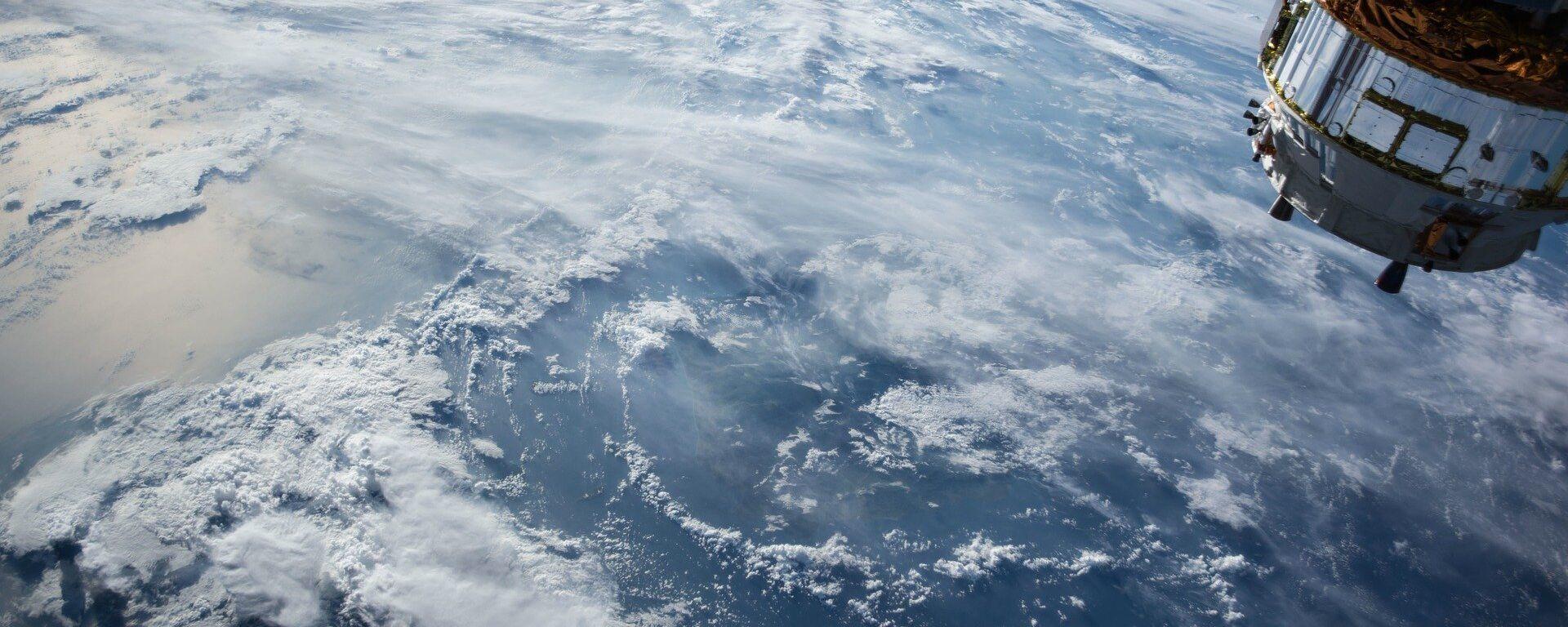 Tierra vista desde la EEI - Sputnik Mundo, 1920, 03.03.2021