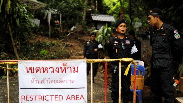 Policía de Tailandia - Sputnik Mundo