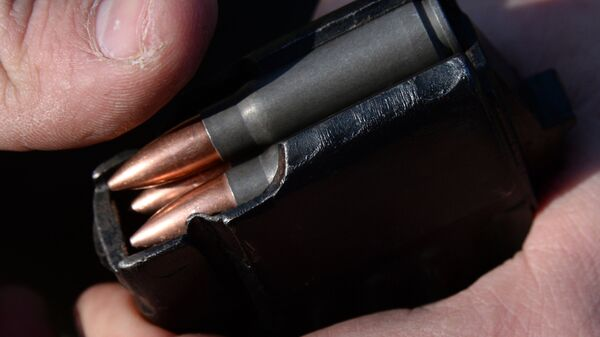 Balas de fusil, imagen referencial - Sputnik Mundo