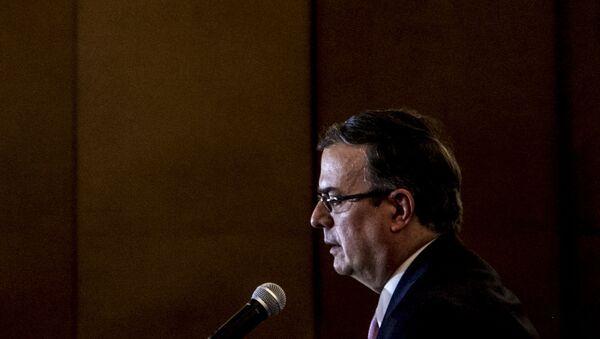 Marcelo Ebrard, secretario de Relaciones Exteriores de México - Sputnik Mundo