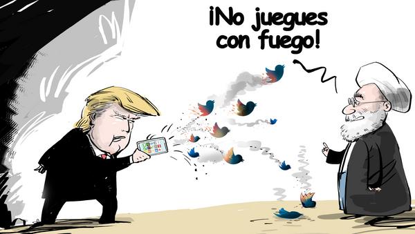 La 'gran cruzada tuiteriana' de Donald Trump - Sputnik Mundo