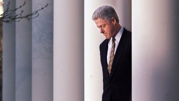 Bill Clinton, expresidente de EEUU  - Sputnik Mundo