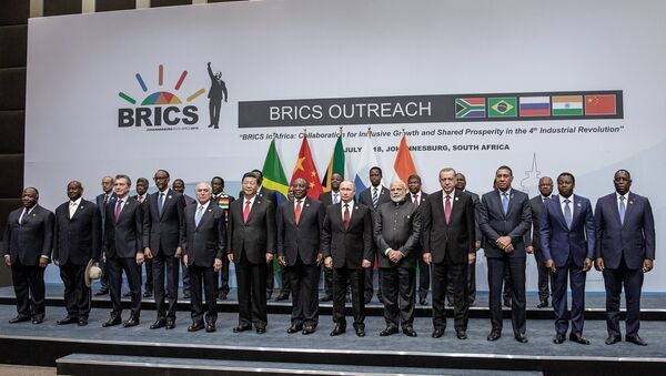 La X cumbre de los BRICS en Sudáfrica - Sputnik Mundo