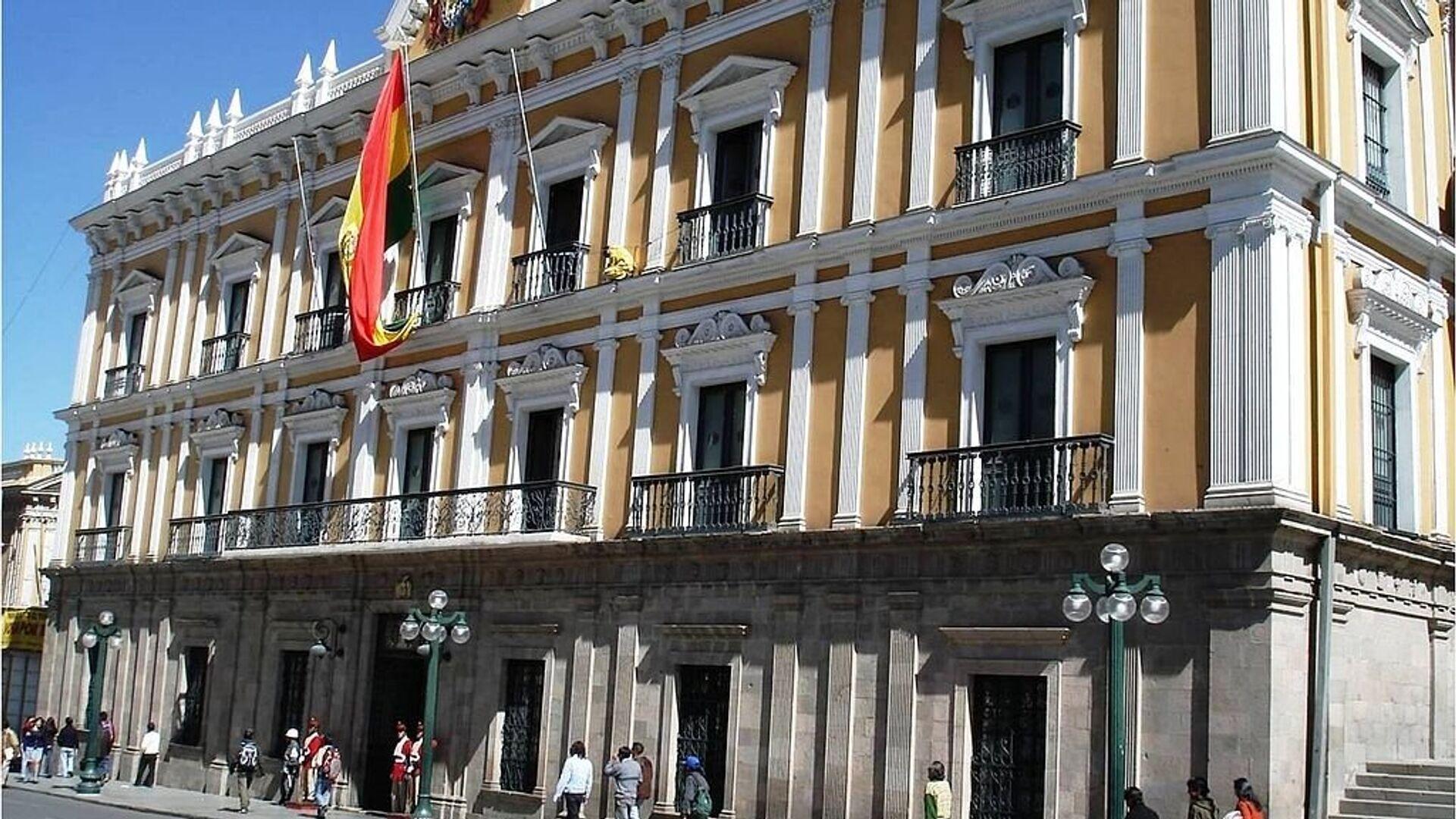 Palacio de Gobierno en La Paz, Bolivia. - Sputnik Mundo, 1920, 28.09.2021
