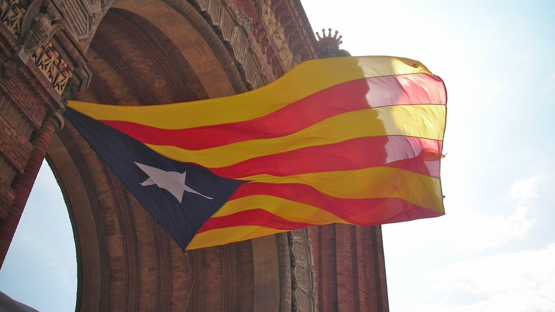 Estelada, la bandera independentista de Cataluña - Sputnik Mundo, 1920, 07.02.2021