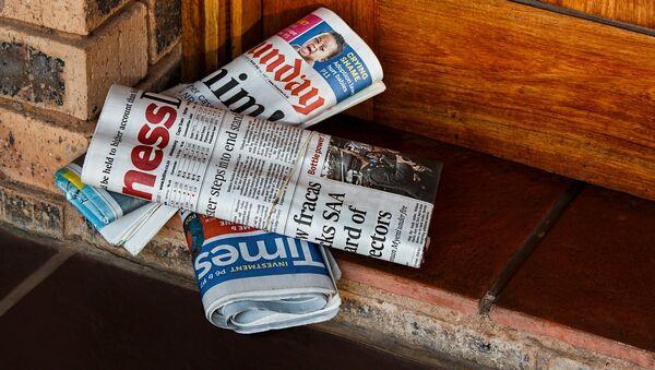 Periodismo (imagen referencial) - Sputnik Mundo