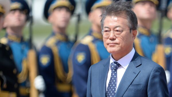 Moon Jae-In, presidente de Corea del Sur - Sputnik Mundo