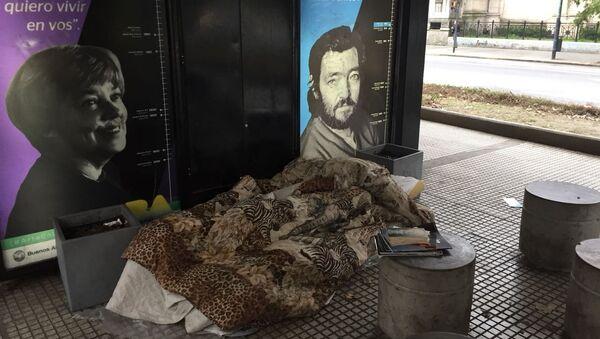 Personas en situación de calle, Buenos Aires, Argentina - Sputnik Mundo