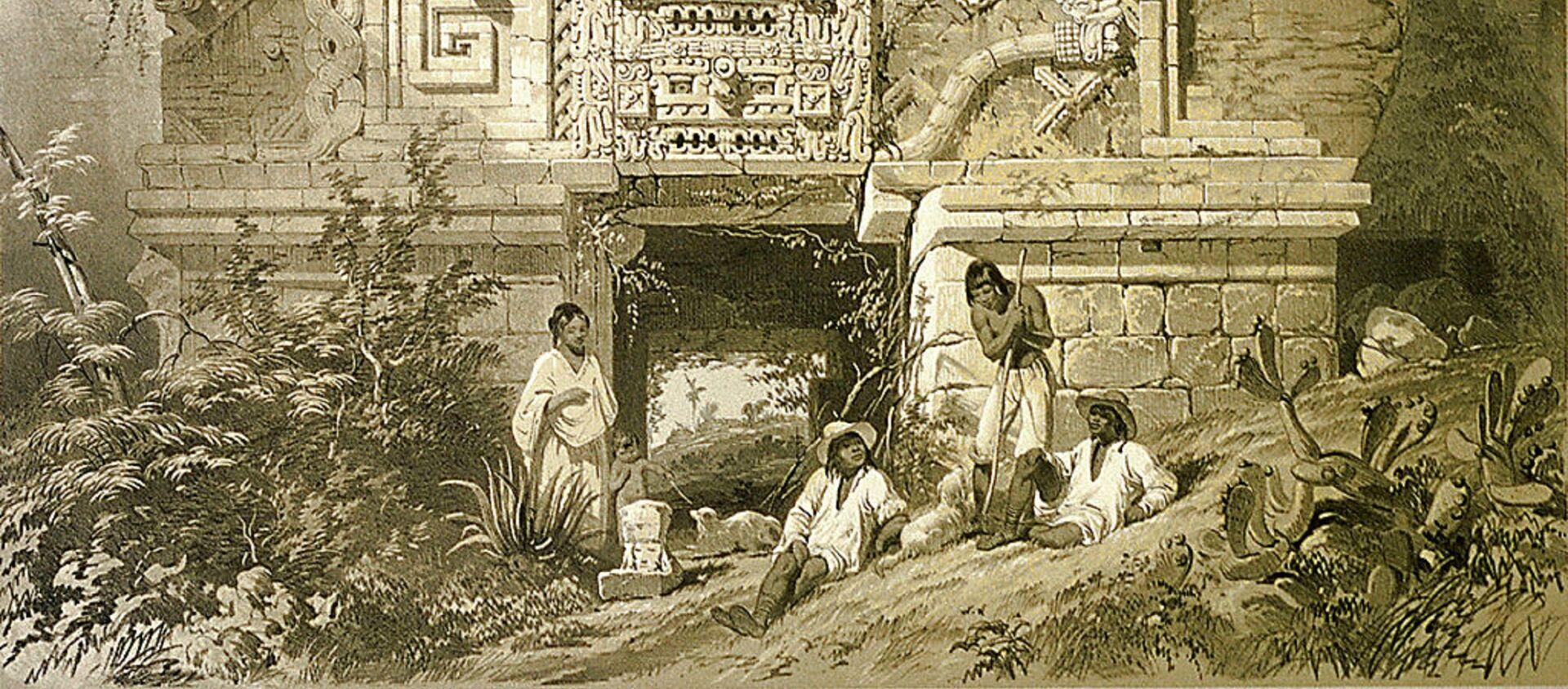 Un monumento de la cultura maya, imagen ilustrativa - Sputnik Mundo, 1920, 07.09.2020