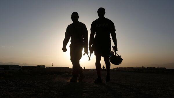 Militares de la OTAN en Afganistán (imagen referencial) - Sputnik Mundo