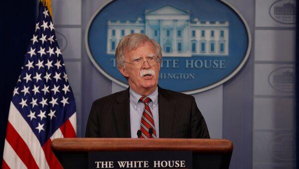 John Bolton, el asesor de la presidencia norteamericana para la Seguridad Nacional - Sputnik Mundo