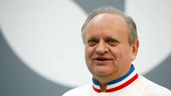 Joel Robuchon, el afamado chef francés - Sputnik Mundo