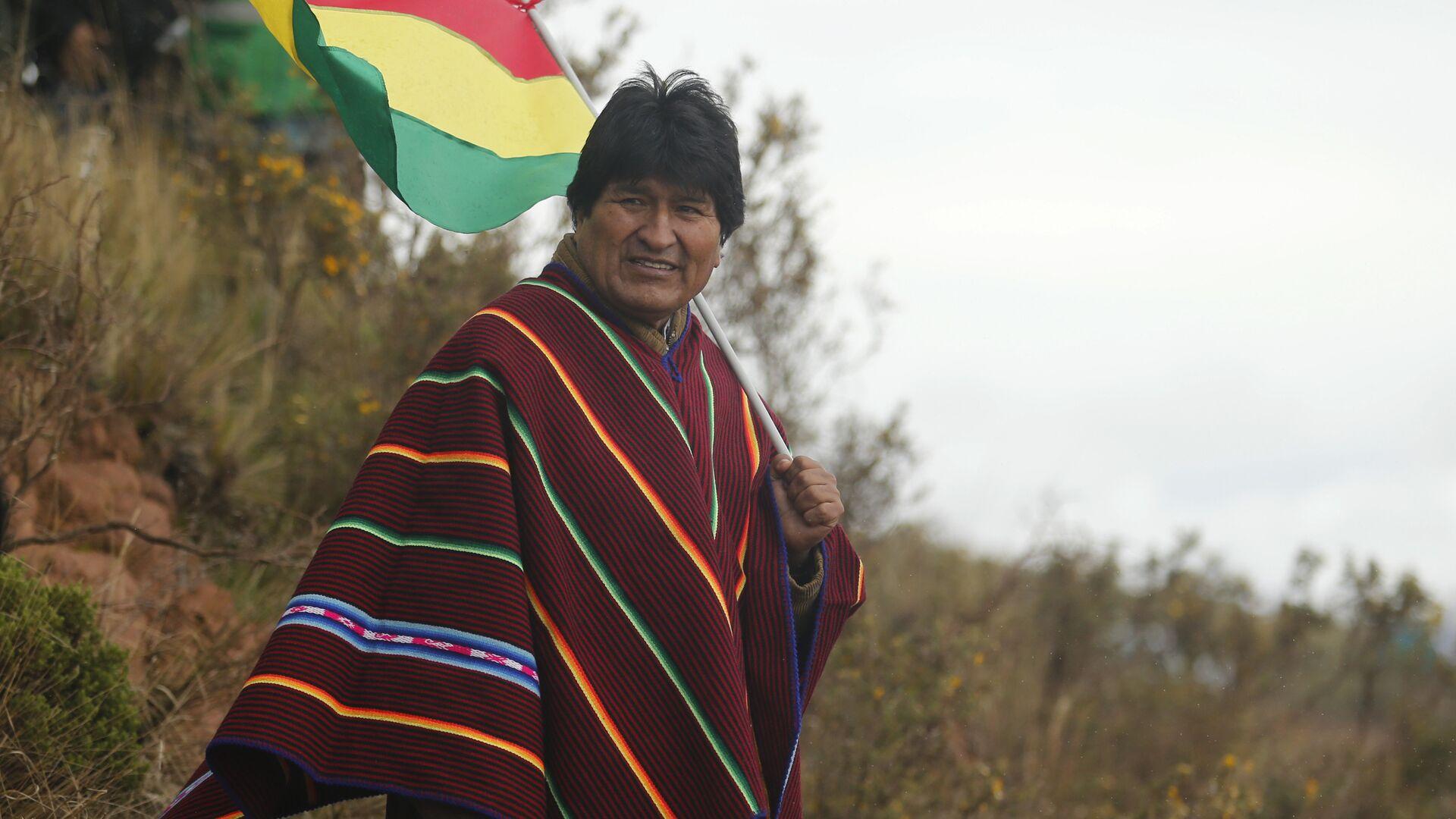 Evo Morales, expresidente de Bolivia - Sputnik Mundo, 1920, 26.07.2021