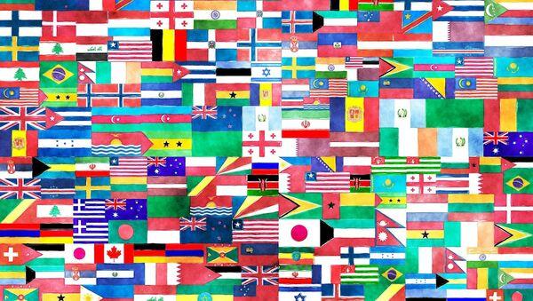 Banderas nacionales - Sputnik Mundo