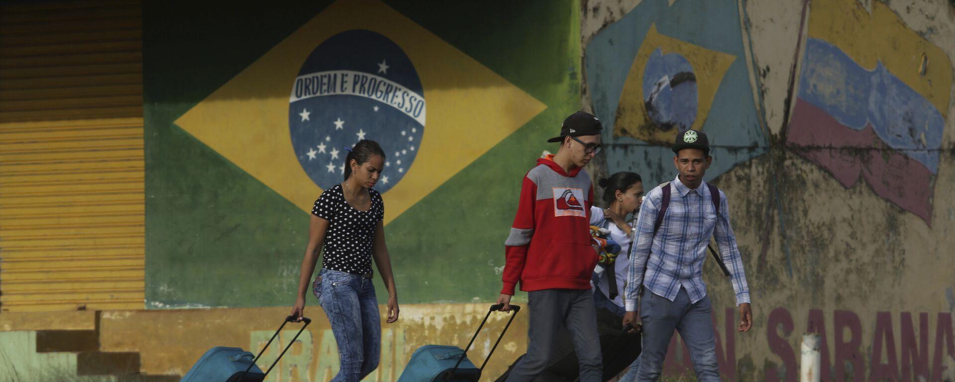 Migrantes venezolanos en el estado de Roraima, Brasil - Sputnik Mundo, 1920, 12.08.2021