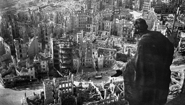 La ciudad de Dresde (Alemania) a finales de 1945 - Sputnik Mundo