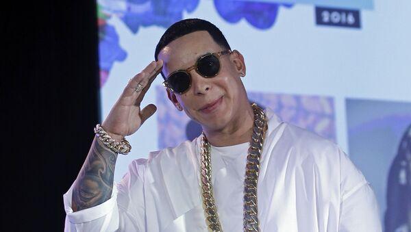 Ramón Luis Ayala Rodríguez, conocido como Daddy Yankee, cantante puertorriqueño (archivo) - Sputnik Mundo