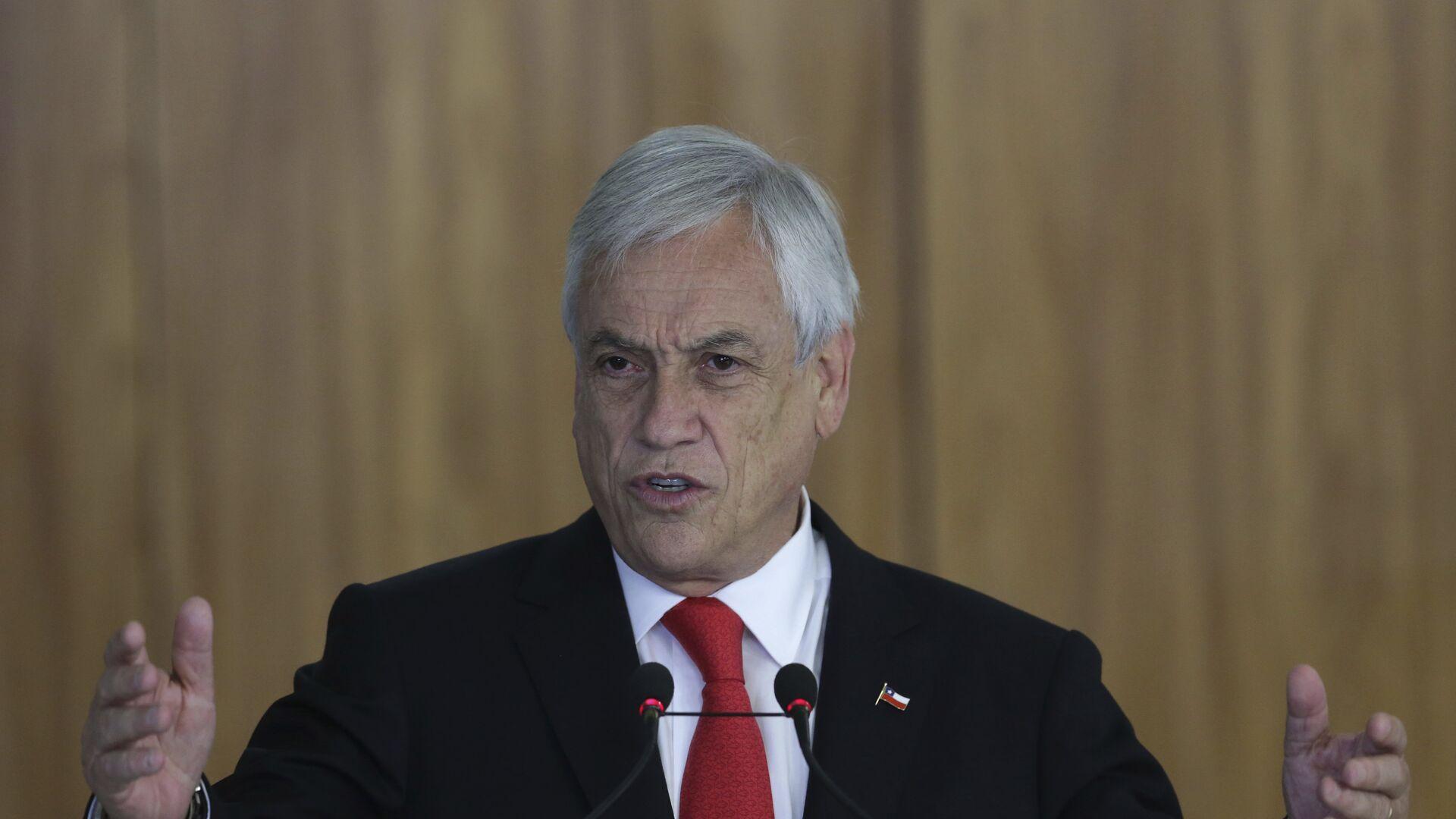 Sebastián Piñera, el presidente de Chile - Sputnik Mundo, 1920, 05.03.2021