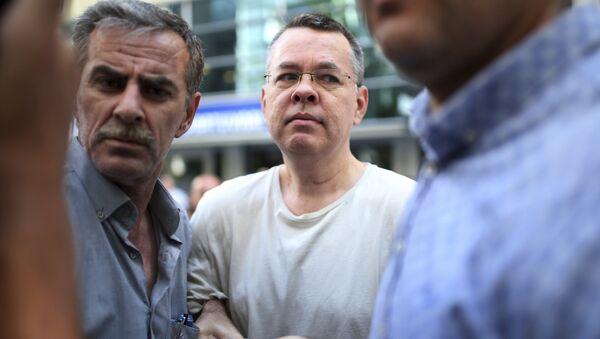 Andrew Brunson, pastor estadounidense arrestado en Turquía - Sputnik Mundo