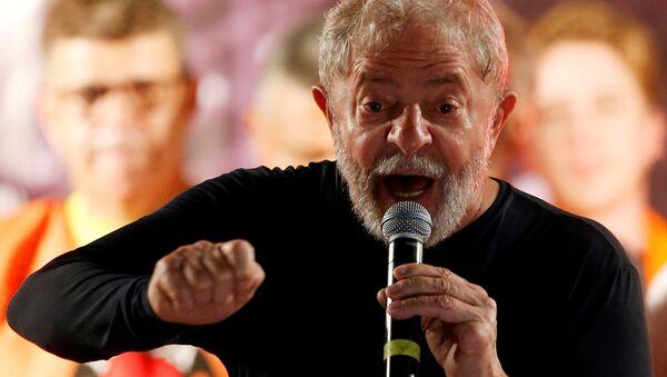 Luiz Inacio Lula da Silva, expresidente de Brasil (archivo) - Sputnik Mundo