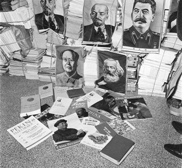 Propaganda comunista. Colección Manuel Gutiérrez Paredes - Sputnik Mundo