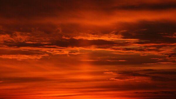 Las nubes, foto de archivo - Sputnik Mundo