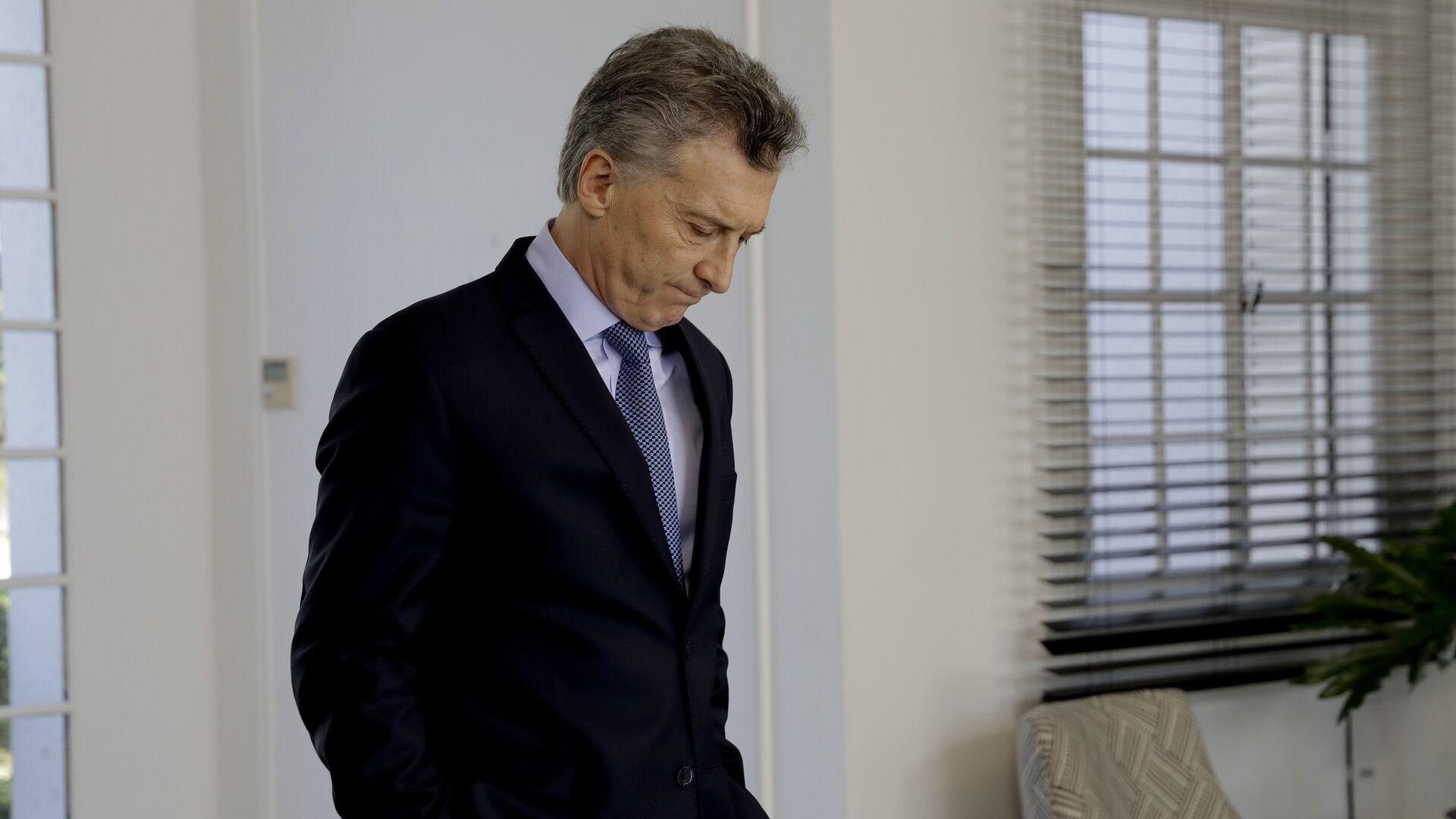 Mauricio Macri, presidente de Argentina - Sputnik Mundo, 1920, 23.03.2021
