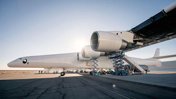 Stratolaunch, aeronave más grande del mundo - Sputnik Mundo