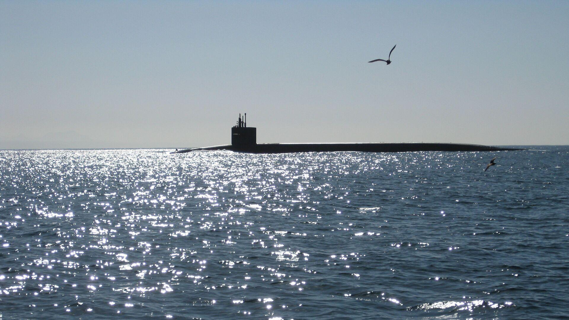 Un submarino (imagen referencial) - Sputnik Mundo, 1920, 16.09.2021