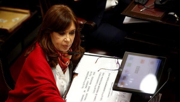 Cristina Fernández de Kirchner expresidenta de Argentina - Sputnik Mundo