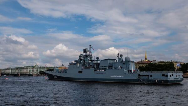 El buque patrullero Almirante Makarov - Sputnik Mundo