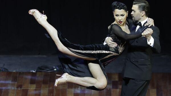 Una pareja rusa gana el Mundial de Tango en Argentina - Sputnik Mundo