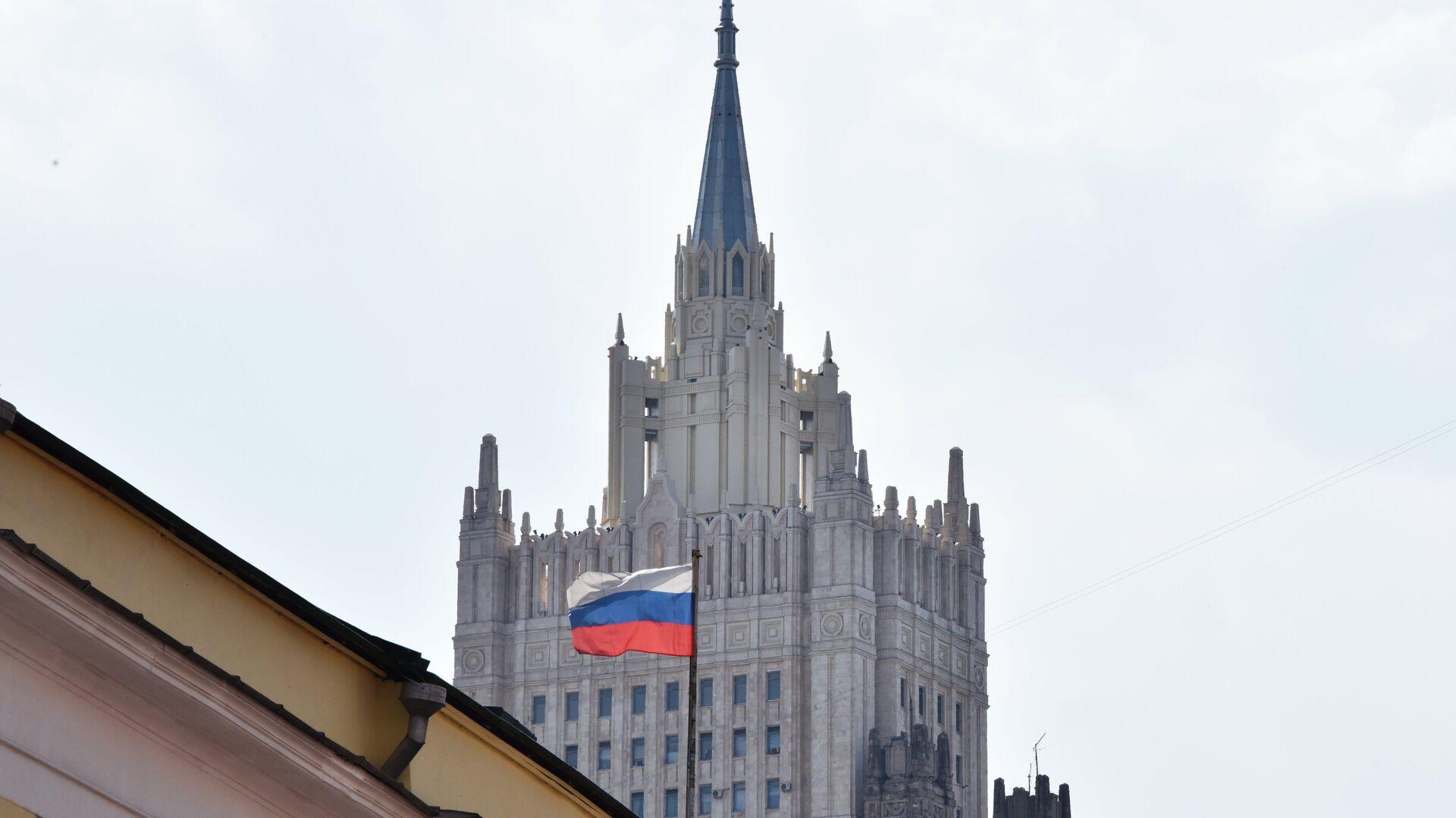 El Ministerio de Asuntos Exteriores ruso en Moscú - Sputnik Mundo, 1920, 10.10.2021