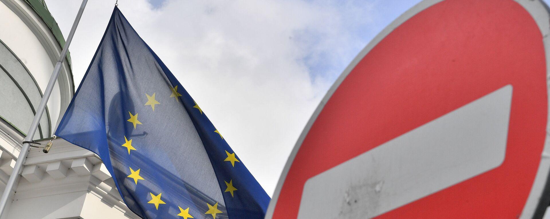 Bandera de la UE - Sputnik Mundo, 1920, 10.02.2021