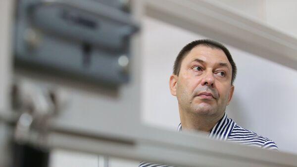 Kiril Vishinski, director del portal RIA Novosti Ukraina - Sputnik Mundo