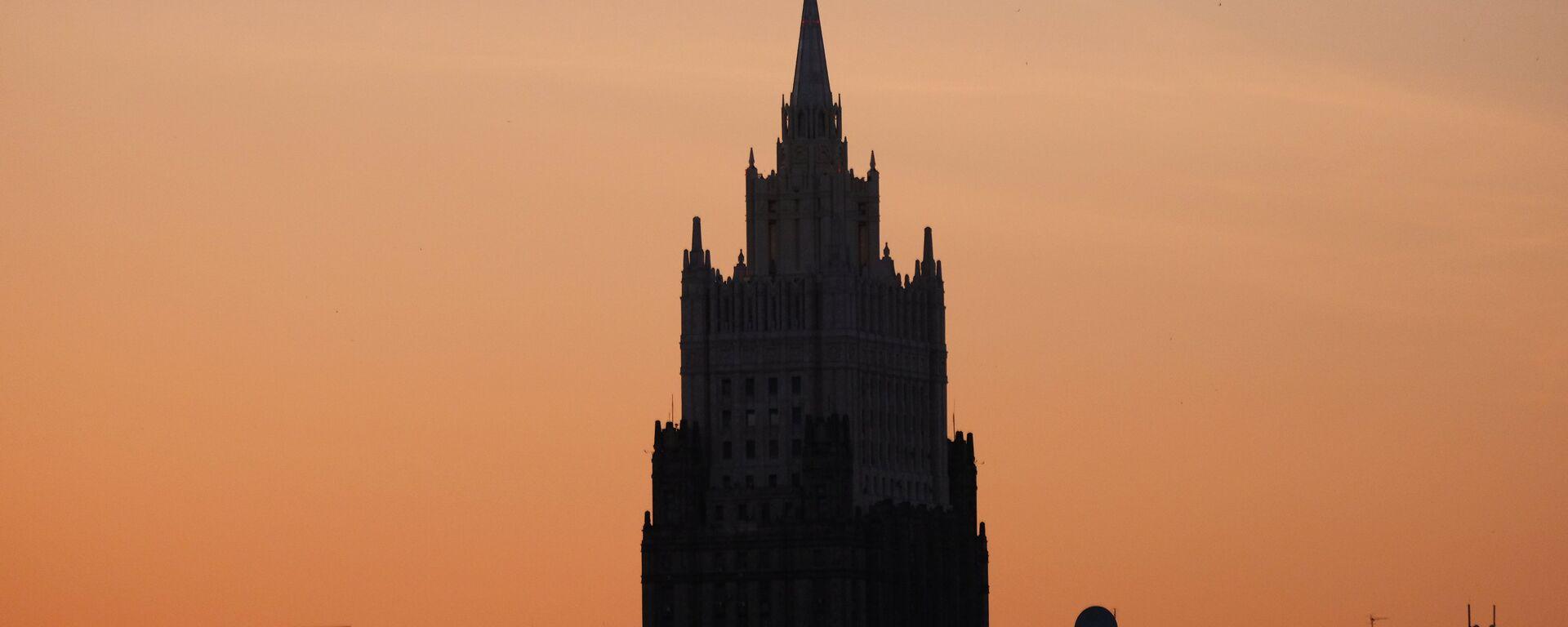 El Ministerio de Asuntos Exteriores de Rusia - Sputnik Mundo, 1920, 08.02.2021