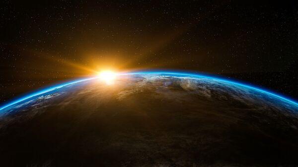 La Tierra vista desde el espacio (ilustración) - Sputnik Mundo