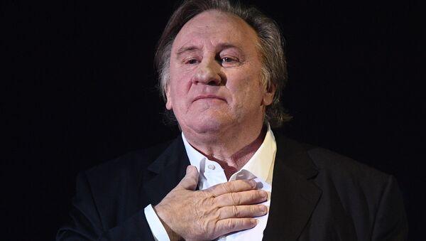 Gérard Depardieu, actor francés - Sputnik Mundo