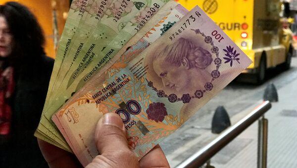 Pesos argentinos - Sputnik Mundo